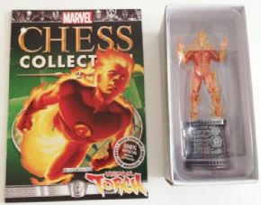 Marvel Chess Collection Subscriber Special #2 Human Torch Fantastic Four Eaglemoss